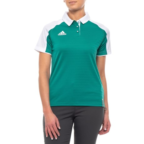 240b24aa0c4 adidas Coaches ClimaLite® Polo Shirt - Short Sleeve (For Women) in  Collegiate Aqua. Tap to expand