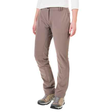 adidas Comfort Soft Shell Hiking Pants (For Women) in Tech Earth - Closeouts