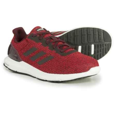 adidas Cosmic 2 Running Shoes (For Men) in Dark Burgundy/Dark Burgundy/Tactile Red - Closeouts