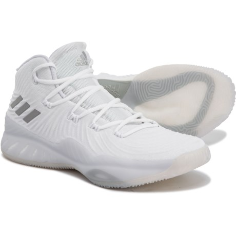 89e62d3f4a0 adidas Crazy Explosive Basketball Shoes (For Men) in Footwear White Light  Grey