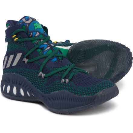 in stock 65535 1a481 adidas Crazy Explosive Primeknit Basketball Shoes (For Big Kids) in Collegiate  Navy Multi