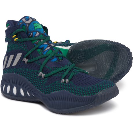 official photos 46b58 dacef adidas Crazy Explosive Primeknit Basketball Shoes (For Big Kids) in  Collegiate Navy Multi
