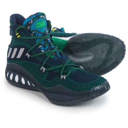 adidas Crazy Explosive Primeknit Basketball Shoes (For Men) in Navy/Grey - Closeouts