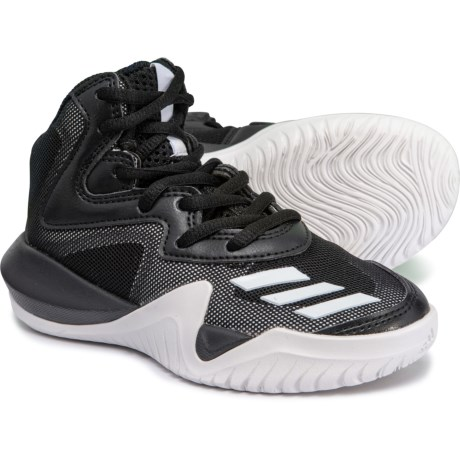 7aa3604cebe adidas Crazy Team K Basketball Shoes (For Little and Big Kids) in Core Black