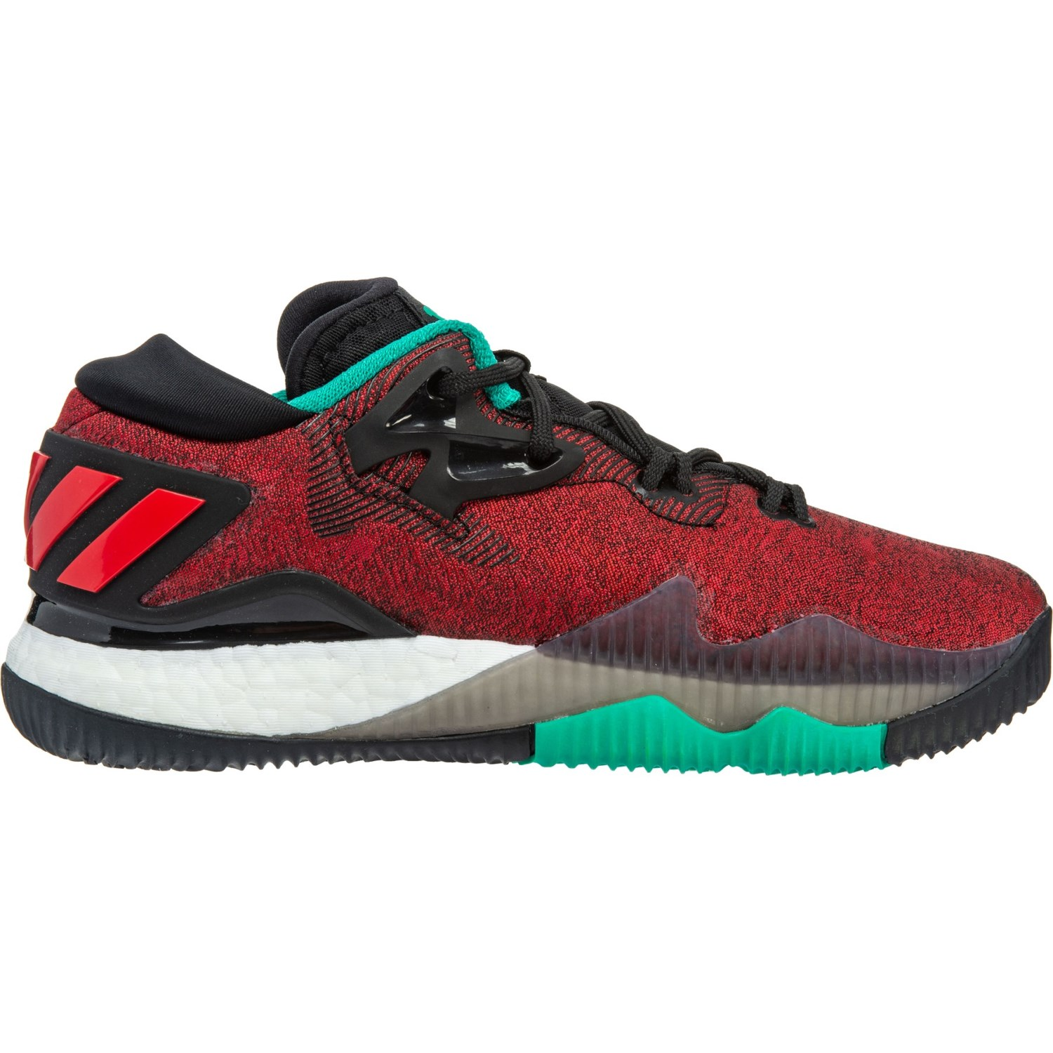 d6a4f5afac412 adidas Crazylight Boost Low Basketball Shoes (For Big Kids) - Save 36%
