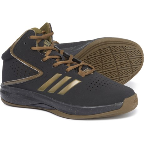 new concept 94d06 03be7 adidas Cross Em Up K Basketball Shoes (For Little and Big Kids) in Core