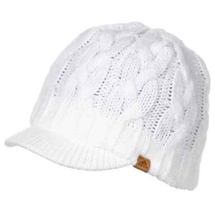 3ff9d1300f6 adidas Crystal Brimmer Beanie (For Women) in White - Closeouts