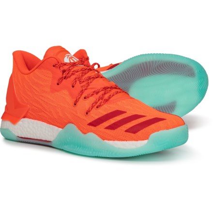 03a3fbb5d5be adidas D Rose 7 Low Basketball Shoes (For Men) in Solar Red Scarlet