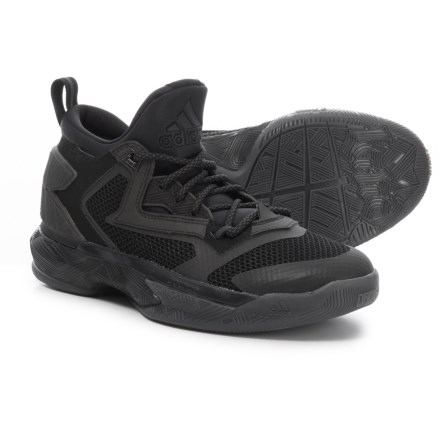 7f82e80a82115 adidas Damian Lillard 2 Basketball Shoes (For Little and Big Kids) in Core  Black