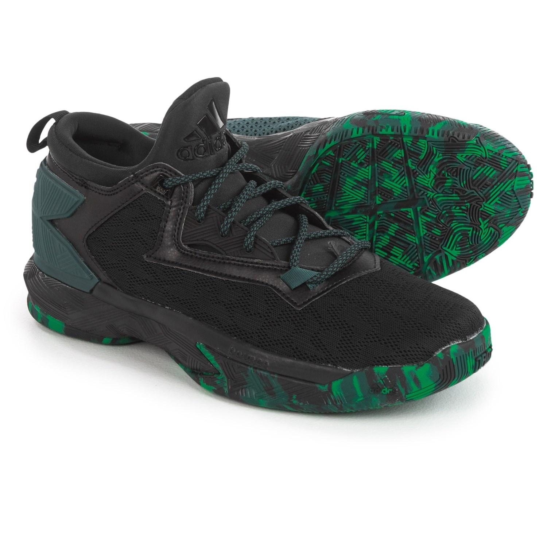 buy online 7494e 36053 ... adidas damian lillard 2 basketball shoes (for men) in black green