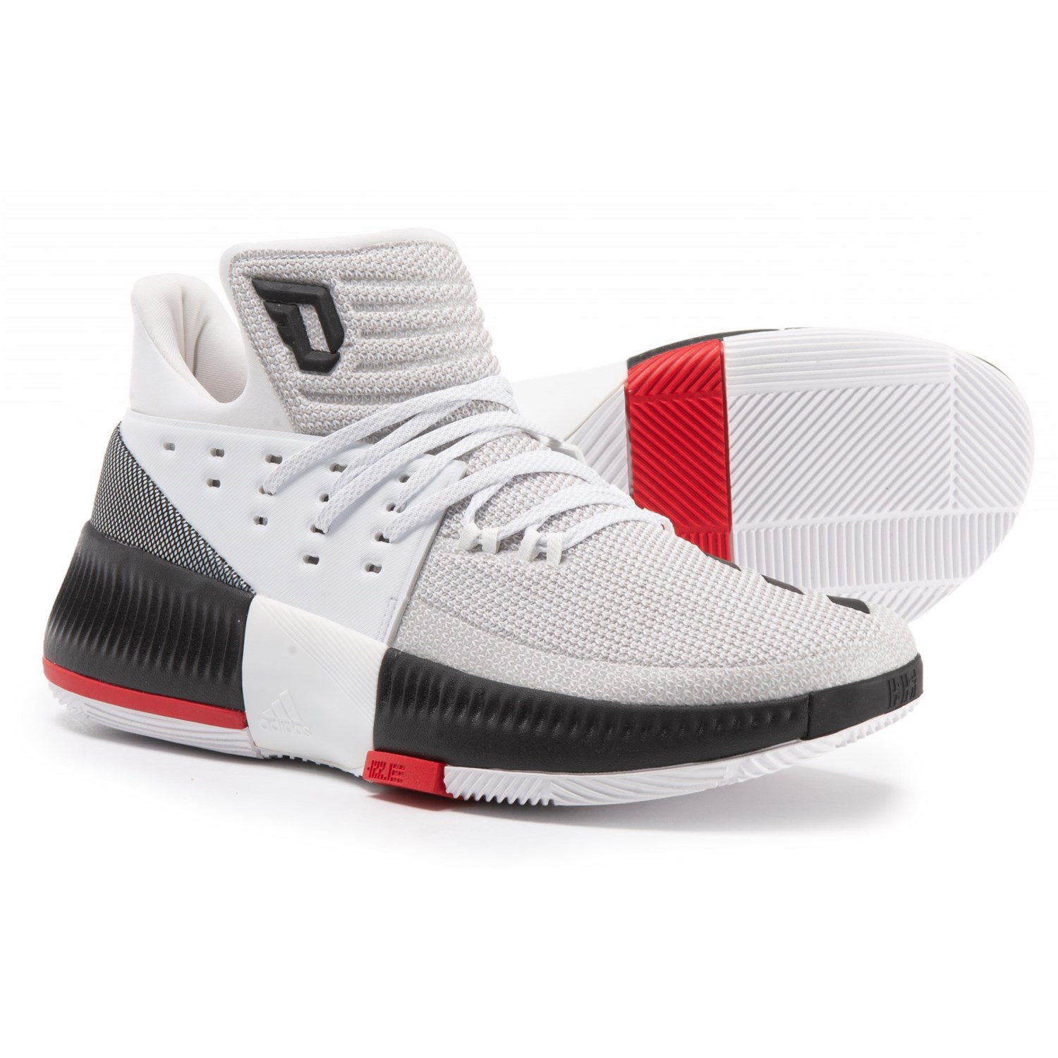 timeless design c5802 3c709 ... coupon code for adidas damian lillard 3 basketball shoes for men in  footwear white core black