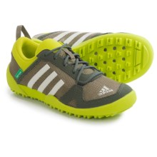 adidas Daroga Two K Shoes (For Little and Big Kids) in Cargo/Chalk White/Base Green - Closeouts