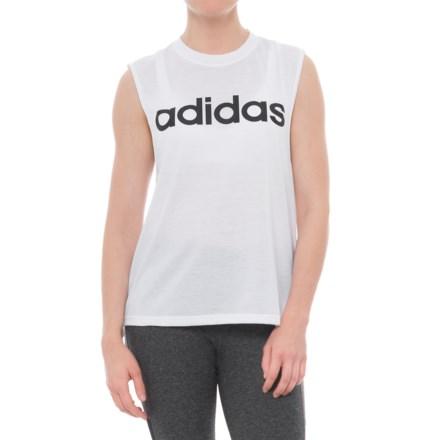 535e65e946df66 adidas Dash Tank Top (For Women) in White/Black - Closeouts