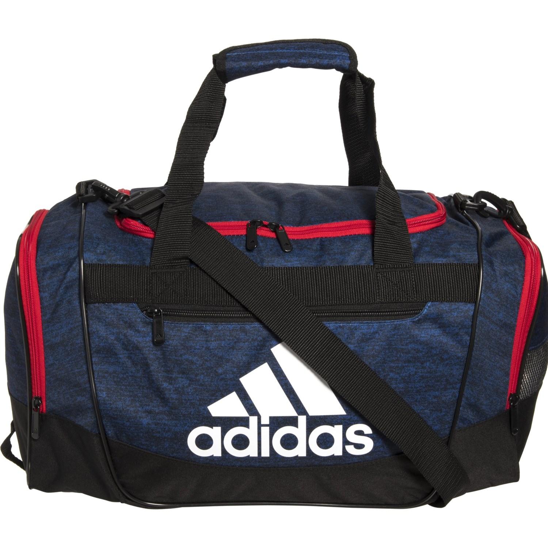 045b1cc9a62a adidas Defender III Duffel Bag - Medium in Collegiate Royal Blue  Jersey/Scarlet/Black