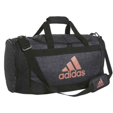 adidas Defense Duffel Bag - Medium in Black Jersey/Black/Bronze - Closeouts