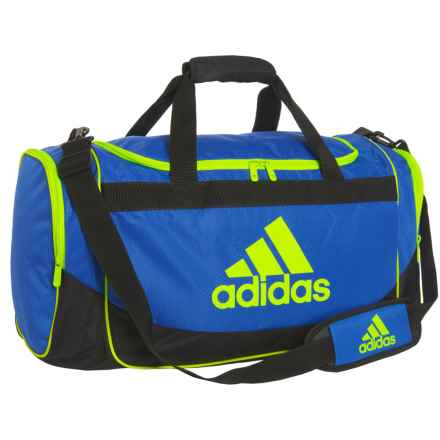 adidas Defense Duffel Bag - Medium in Cobalt/Electricity - Closeouts
