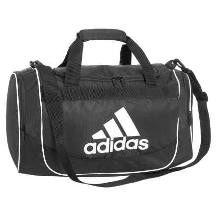 adidas Defense Duffel Bag - Small in Black - Closeouts