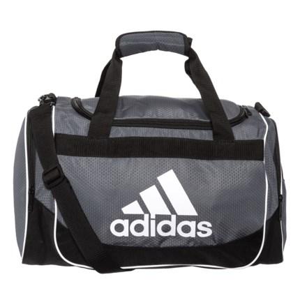510bc10bd93d adidas Defense Duffel Bag - Small in Onix Black - Closeouts
