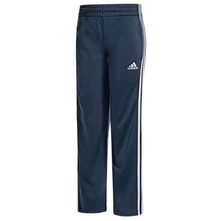 adidas Designator Tricot-Lined Pants (For Big Boys) in Collegiate Navy - Closeouts