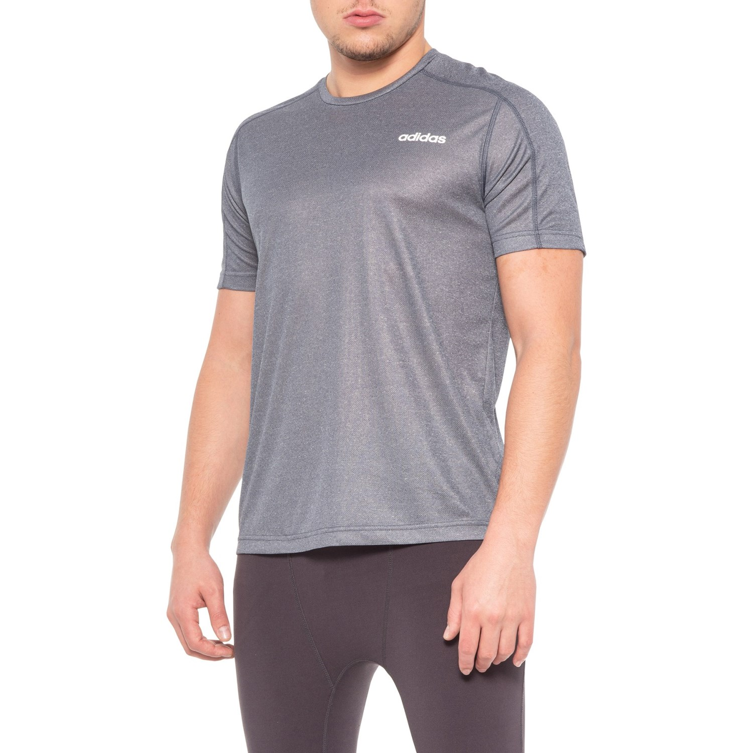 adidas Designed 2 Move Heathered T Shirt (For Men) Save 60%
