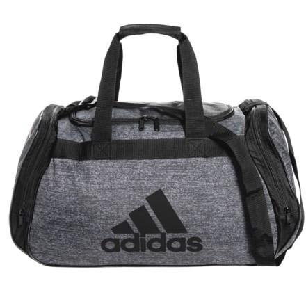 b360c4edd93f adidas Diablo Medium II Duffel Bag in Onix Jersey Black - Closeouts