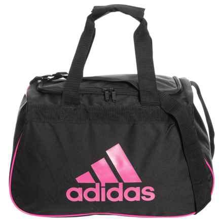adidas Diablo Small Duffel Bag II in Black/Intense Pink - Closeouts