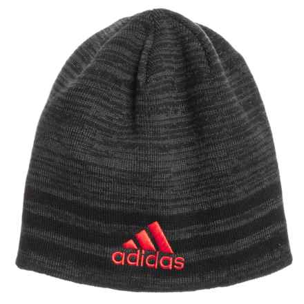 adidas Eclipse Reversible II Beanie (For Men) in Black Night Grey Marl Black 2ad413a8be99