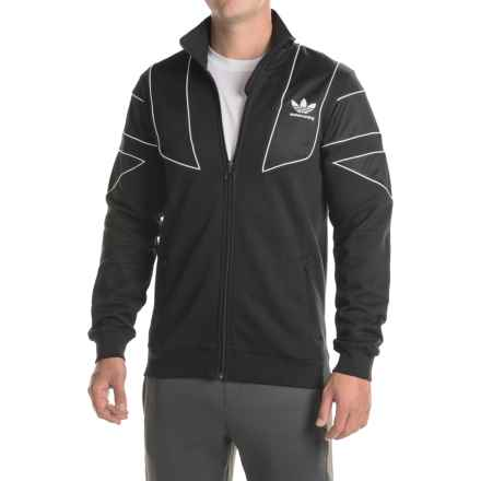 adidas EQT Track Jacket (For Men) in Black - Closeouts