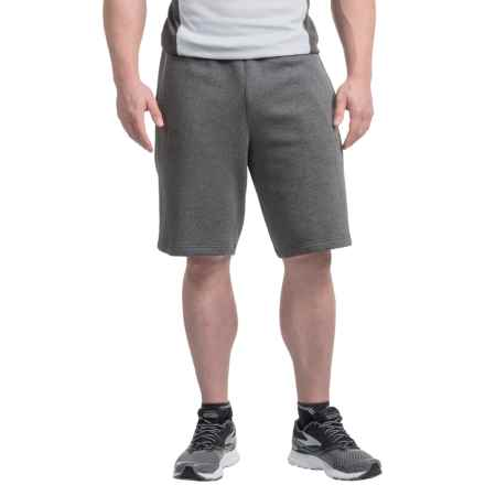 adidas Essential Sweat Shorts (For Men) in Dark Grey/ Black - Closeouts