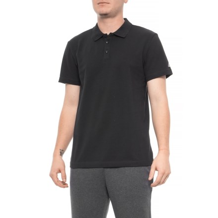 d42750fe6 adidas Essentials Base Polo Shirt - Short Sleeve (For Men) in Black -  Closeouts