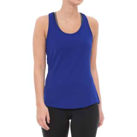 adidas Essentials Layering Tank Top (For Women) in Boblue - Closeouts