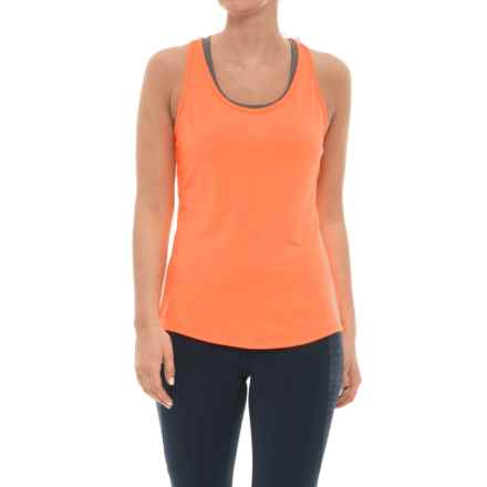 adidas Essentials Layering Tank Top (For Women) in Flash Orange - Closeouts