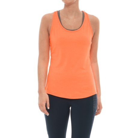 adidas Essentials Layering Tank Top (For Women) in Flash Orange