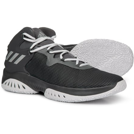 3980056f859f2 adidas Explosive BOUNCE Basketball Shoes (For Men) in Grey Four Silver  Metallic