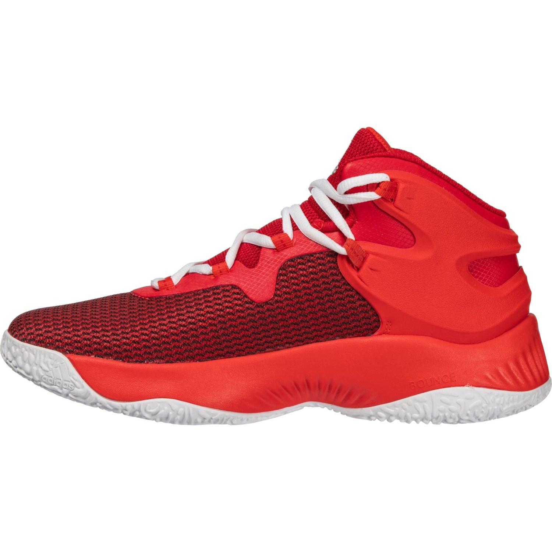 sale retailer 4eed9 4dbf1 adidas Explosive BOUNCE J Basketball Shoes (For Big Kids)