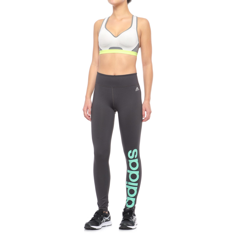 cc1eebf781e adidas Fab Linear Tights (For Women) - Save 59%