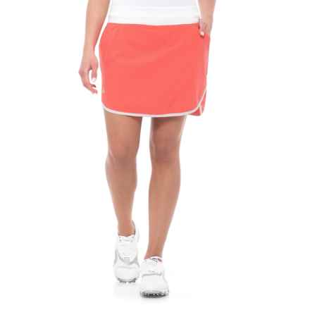 adidas Fashion Rangewear Golf Skorts (For Women) in Easy Coral - Closeouts