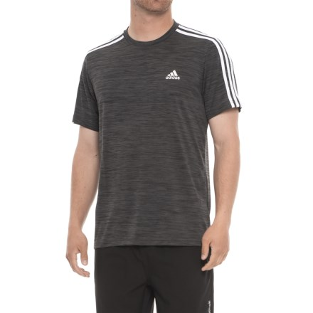 7061b38f adidas Fire Ball 3-Stripe Shirt - Short Sleeve (For Men) in Dark