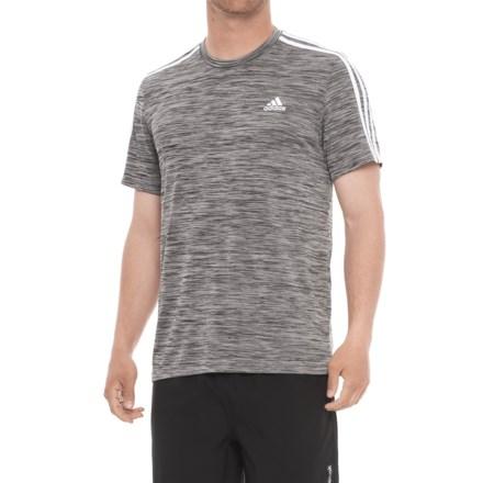 89a5e83f9 adidas Fire Ball 3-Stripe Shirt - Short Sleeve (For Men) in Medium