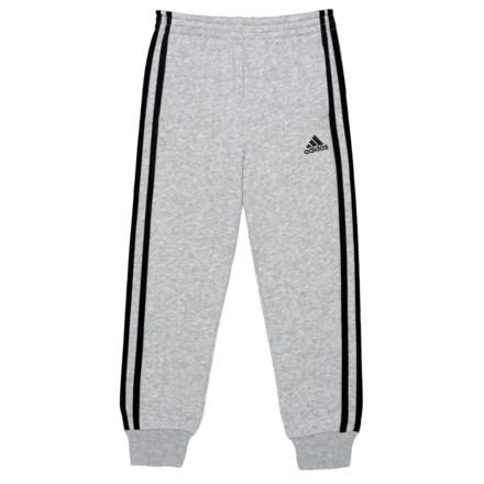 9d7393a63c54 adidas Cotton Fleece Jogger (For Big Boys) in Grey Heather - Closeouts