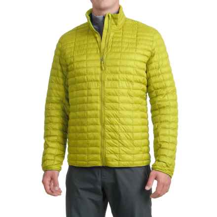 adidas Flyloft Jacket - Insulated (For Men) in Unity Lime/Utility Ivy - Closeouts