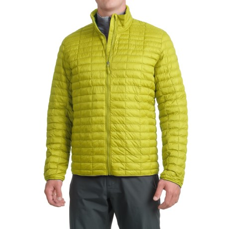 adidas Flyloft Jacket - Insulated (For Men) in Unity Lime/Utility Ivy