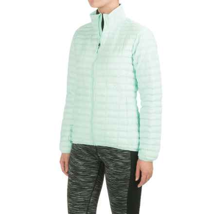 adidas Flyloft Jacket - Insulated (For Women) in Ice Mint/Ice Green - Closeouts