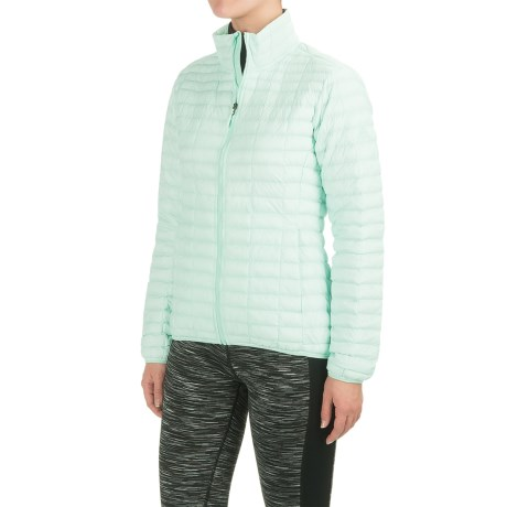 adidas Flyloft Jacket - Insulated (For Women) in Ice Mint/Ice Green