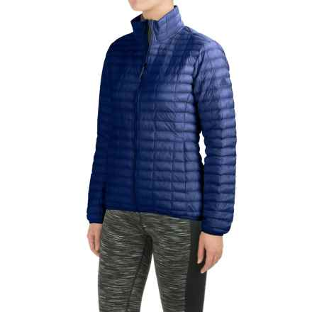 adidas Flyloft Jacket - Insulated (For Women) in Unity Ink/Collegiate Navy - Closeouts