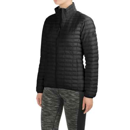 adidas Flyloft Jacket - Insulated (For Women) in Utility Black/Unity Ink - Closeouts
