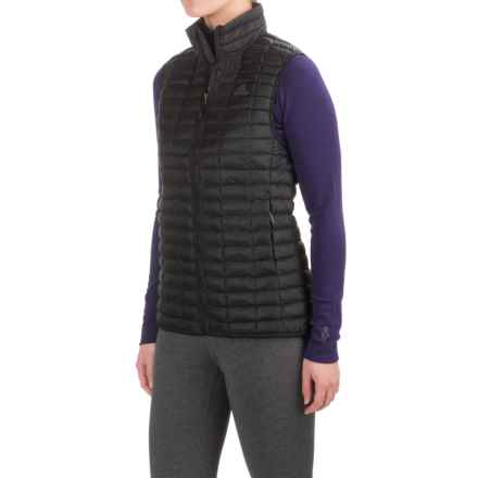 adidas Flyloft Vest - Insulated (For Women) in Black/Utility Black - Closeouts