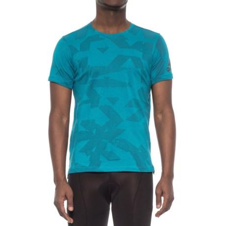 adidas Freelift Elite ClimaLite® Shirt - Short Sleeve (For Men) in Mystery Petr