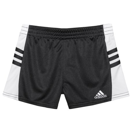 adidas Go Run Shorts (For Little Girls) in Black
