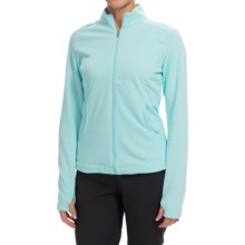 adidas golf 3-Stripes Layering Jacket (For Women) in Ice Blue - Closeouts
